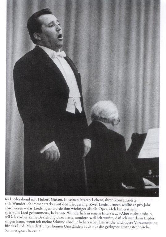 Fritz Wunderlich mit Hubert Giesen